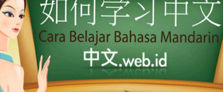 Cara Belajar Bahasa Mandarin Untuk Pemula